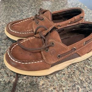 Boys Sperry shoes